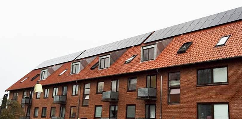 Solcelleanlæg til boligforeninger